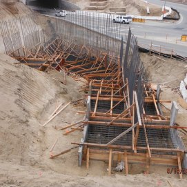 Bridge Footing on North - Ready for Pour