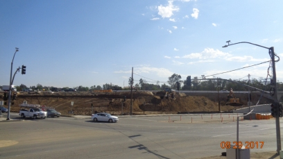 Construction of New South Bound I-15 On-Ramp
