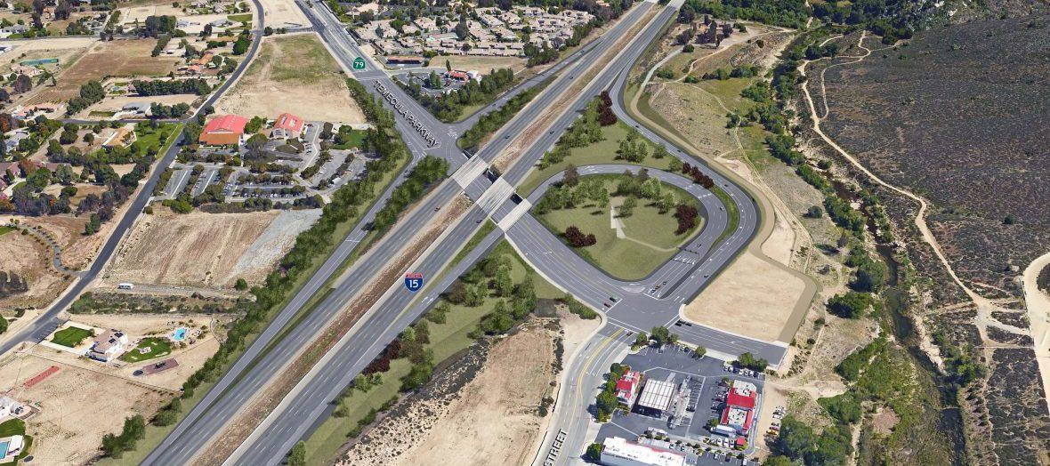 Temecula Parkway Interchange – I 15 / SR 79 South Ultimate Interchange