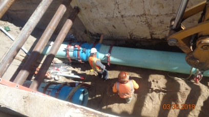 Restringers at Sewer System