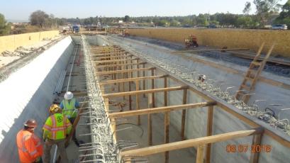 Forming Bridge Deck