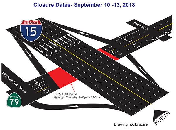 Sept 10-13 Closure map