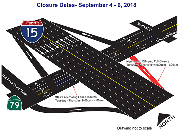 Sept 4-6 Closure map