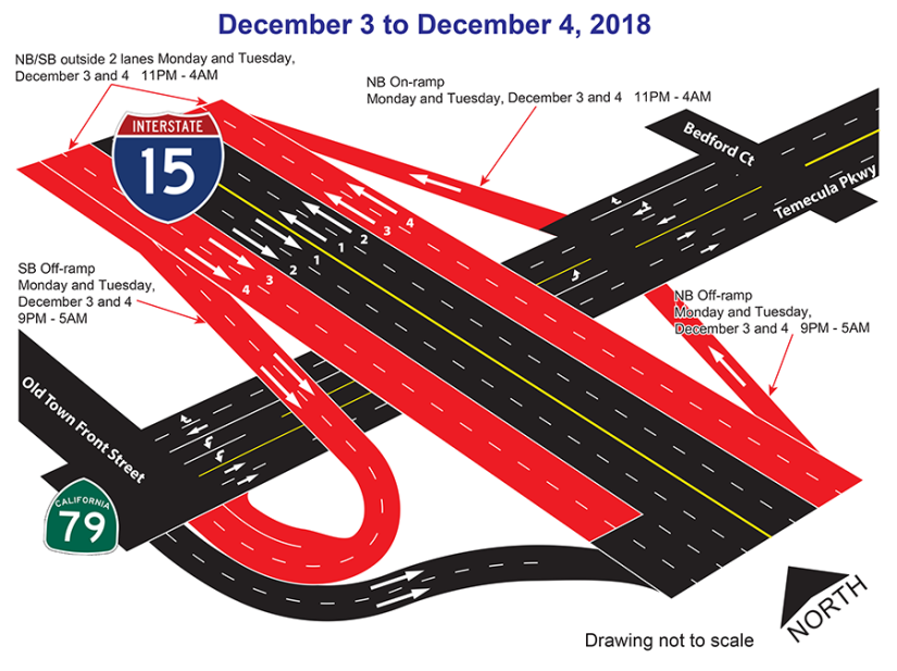 Dec 3 - Dec 4 Closure map