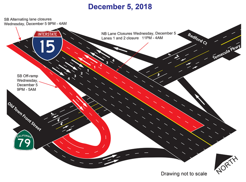 Dec 5 Closure map